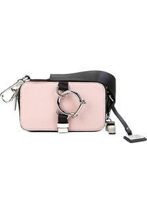 Bolsa Ellus 2Nd Floor Mini Bag Snaphot Bag Glamping Feminina - Feminino-Rosê