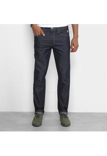 Calça Jeans Slim Cavalera Básica Masculino - Masculino-Jeans