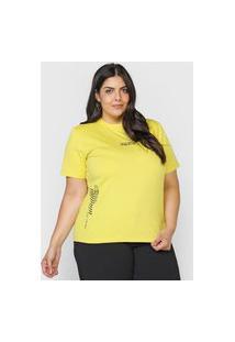 Camiseta Colcci Stay Cool Amarela