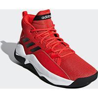 de11d876 Tênis Cano Alto Adidas Streetfire Masculino - Masculino-Vermelho+Branco