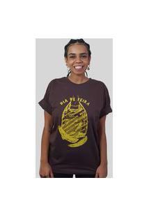 Camiseta Quimera Frágil Marrom
