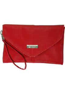 Bolsa Clutch Duccini Queã³Ps Vermelha - Vermelho - Feminino - Dafiti