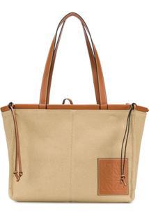 Loewe Cushion Tote Bag - Marrom