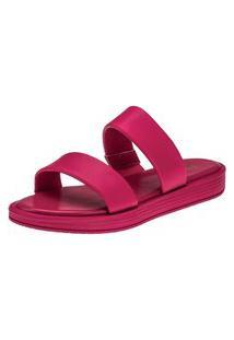 Sandália Chinelo Domidona Slide Tiras Pink