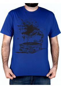 Camiseta Bleed American Vynil Royal
