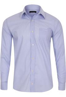 Camisa Social Classic Lilás