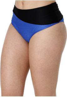 Calcinha De Biquíni Hot Pant Feminino Azul