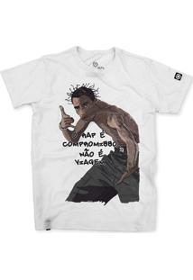 Camiseta Stoned Sabotage Branco