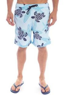 Shorts Aleatory Turtle Masculino - Masculino