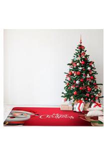 Tapete De Natal Para Sala Merry Christmas Cute Único