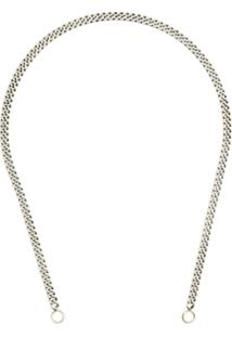Marla Aaron Metallic 14K Gold Sterling Silver Chain Necklace