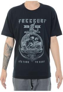 Camiseta Freesurf Âncora - Masculino