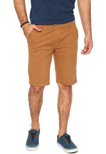 Bermuda Sarja Rusty Chino Outlook Caramelo