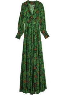 Vestido Longo Floresta Eva - Feminino