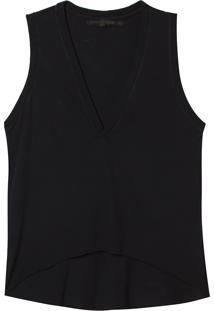 Regata V Basic Black (Preto, Gg)