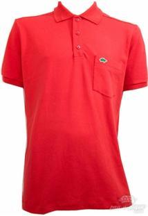 Camisa Pau A Pique Polo Com Punho - Masculino