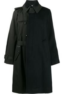 Sacai Asymmetric Belted Trench Coat - Azul