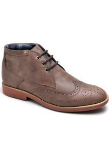 Bota Top Franca Shoes Casual - Masculino-Café