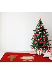 Tapete De Natal Para Sala Papai Noel Perdido ÚNico - Multicolorido - Dafiti