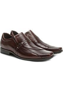 Sapato Social Couro Walkabout Textura - Masculino