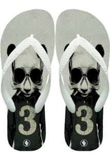 Chinelo Live Panda Hipster - Masculino