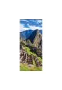 Adesivo Decorativo De Porta - Machu Picchu - 1261Cnpt
