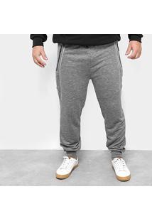 Calça Moletom Jogger Delkor Plus Size Masculina - Masculino
