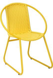 Cadeira De Alumínio C301 Taipé Amarela - Alegro Móveis
