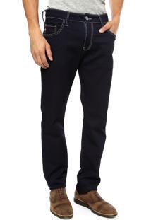 Calça Jeans Forum Paul Skinny Azul-Marinho