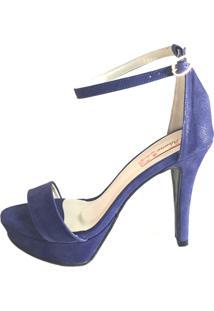 Sandália Blume Calçados Meia Pata Azul