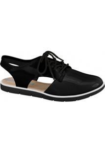 Sapato Oxford Cut Out Moleca 5409100