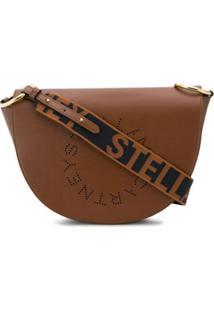 Stella Mccartney Bolsa Stella Logo - Marrom