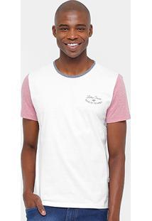 Camiseta Triton Bicolor Mescla Masculina - Masculino