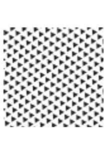Papel De Parede Autocolante Rolo 0,58 X 3M - Preto E Branco 463