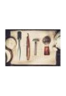 Painel Adesivo De Parede - Barbearia - Barber Shop - 1109Png