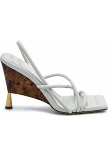 Gia Couture Sandália X Rosie Huntington-Whiteley 2 100 - Branco