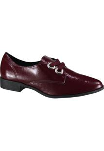 Sapato Beira Rio Conforto Oxford Feminino
