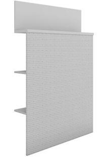 Cabeceira Solteiro Com Prateleira Dream Dots/Branco- Líder Design