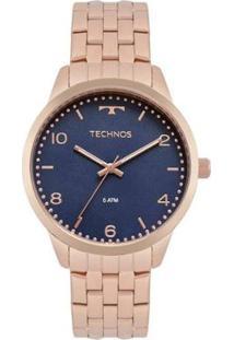 Relógio Technos Feminino Dress - Feminino-Rosa