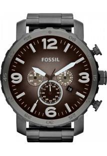 Eclock. Relógio Aço Dobrável Analógico Tamanho Grande Masculino Technos  Fossil Clock Cronograph ... 2a2fe771c2