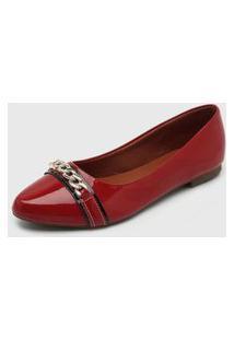 Sapatilha Dafiti Shoes Corrente Vinho