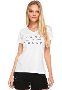 Camiseta Hang Loose Basic Branca