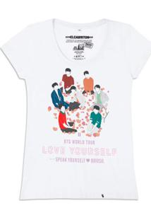 Bts - Love Yourself - Camiseta Clássica Feminina