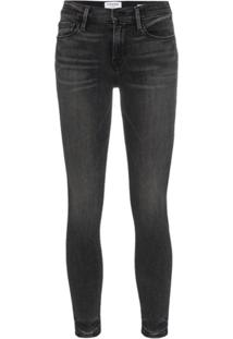 Frame Calça Jeans 'Le Skinny De Jeanne' - Cinza