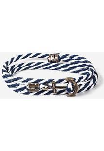 Pulseira Hermoso Compadre Navy 3 Voltas Masculina - Masculino-Azul