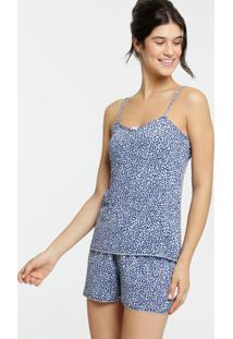 Pijama Feminino Liganete Animal Print Marisa