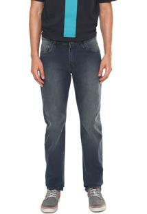 Calça Jeans Volcom Reta Vintage Azul