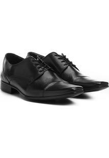 Sapato Social Walkabout Couro - Masculino-Preto