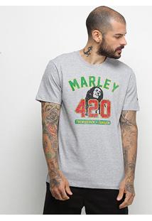 Camiseta New Era Universal Bob Marley Masculina - Masculino