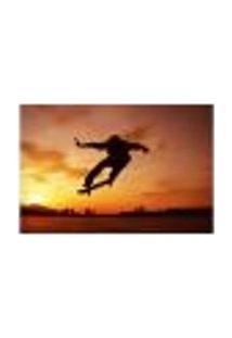 Painel Adesivo De Parede - Skate - Skateboard - 1878Pnp